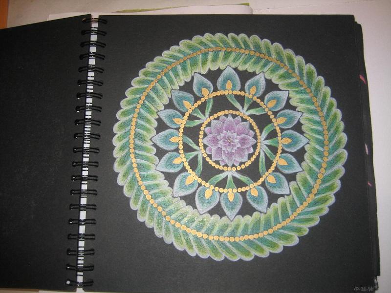 Mandala Green wreath