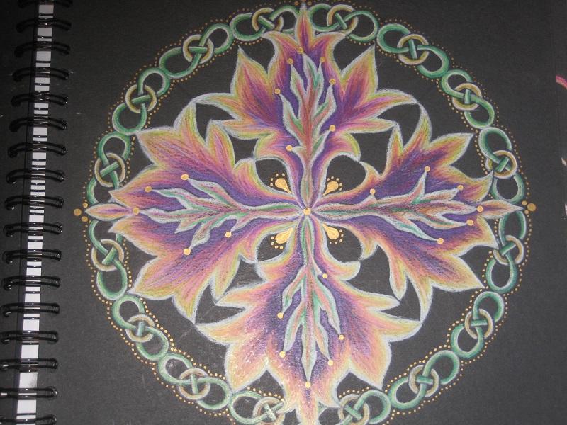 Mandala Consuming Fire