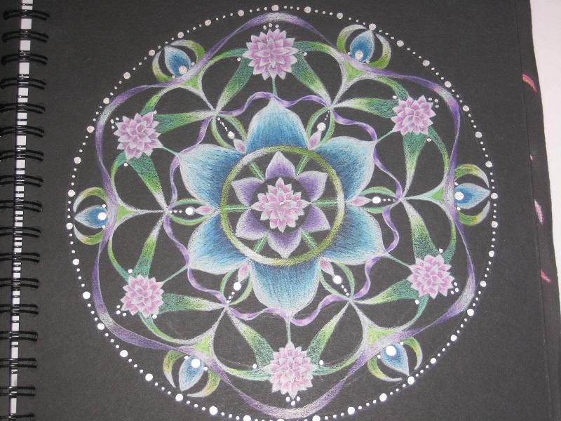 Mandala Seven Roses