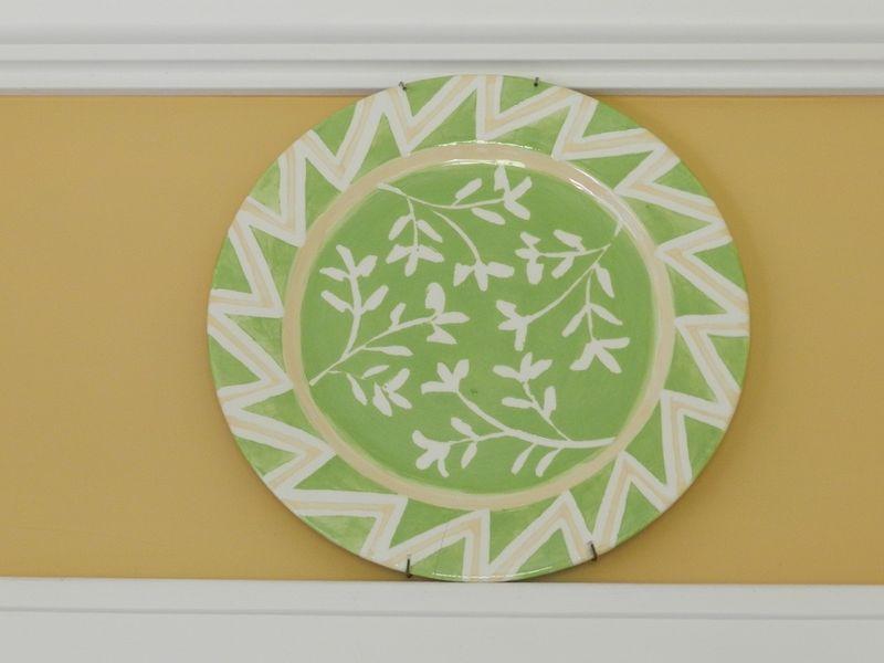 100667-leaf Platter