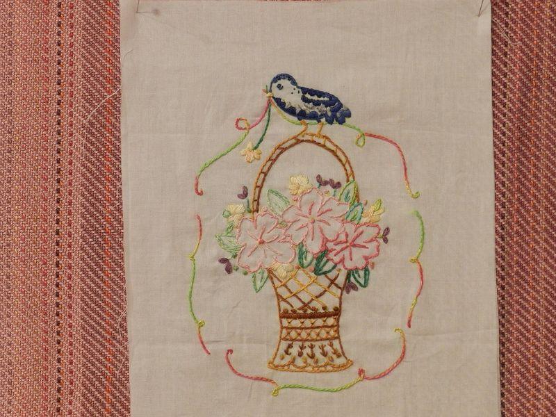 100796-Bird on basket