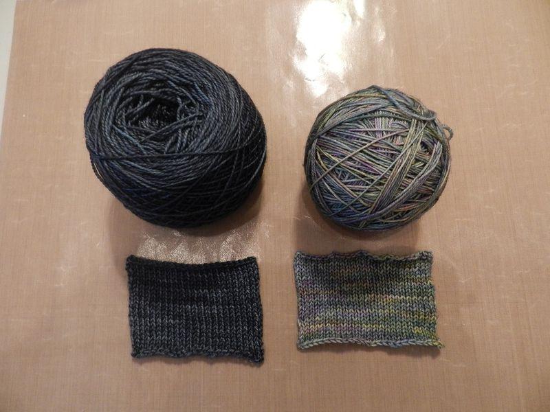 100039-Blue sock yarns