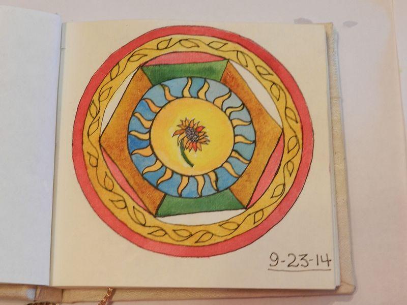 100761-watercolor layer 3rd mandala