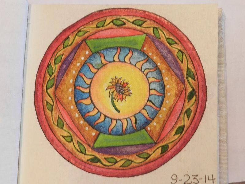 100762-Finished 3rd mandala