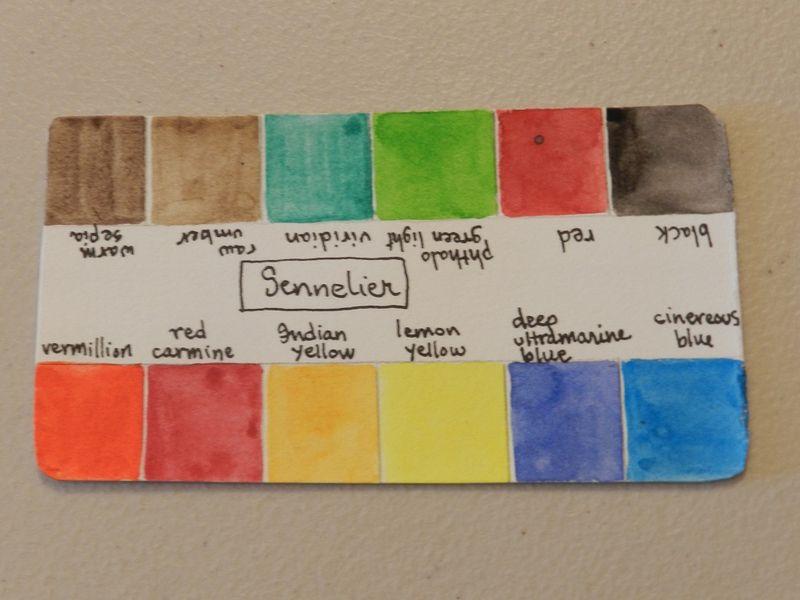100768-Guide for Sennelier kit