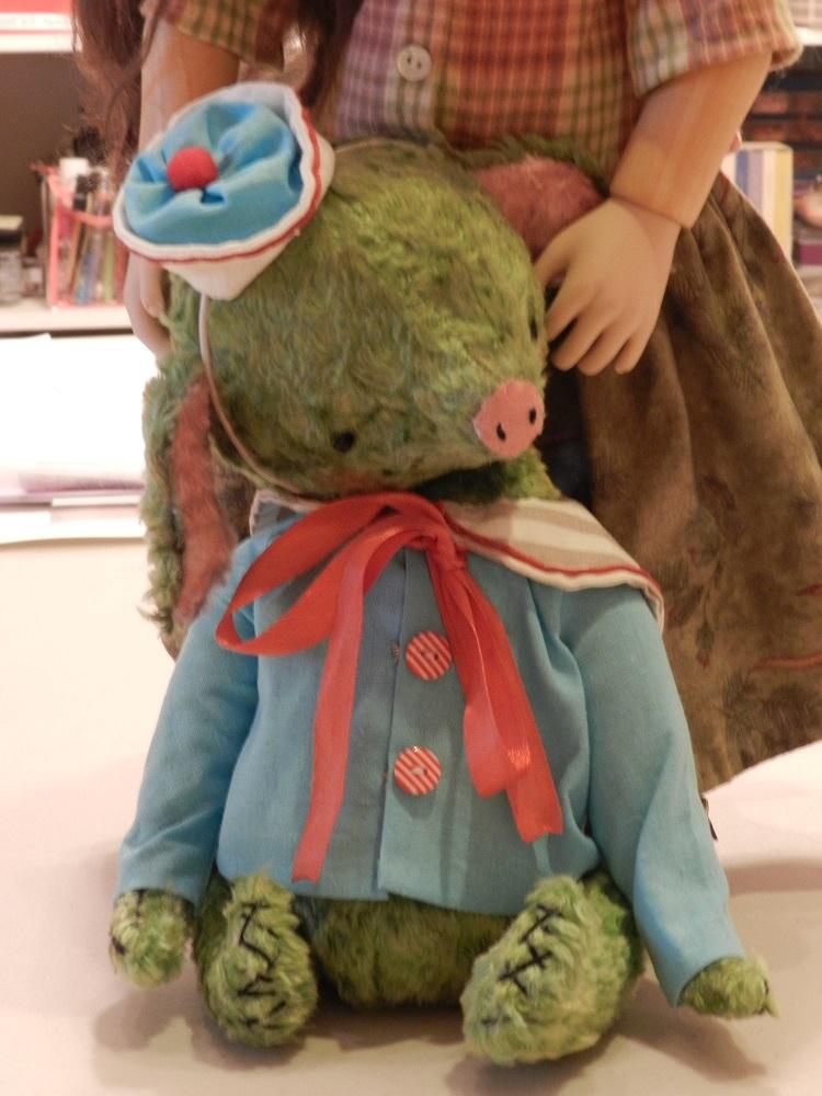 100786-Portrait Sergei Pig