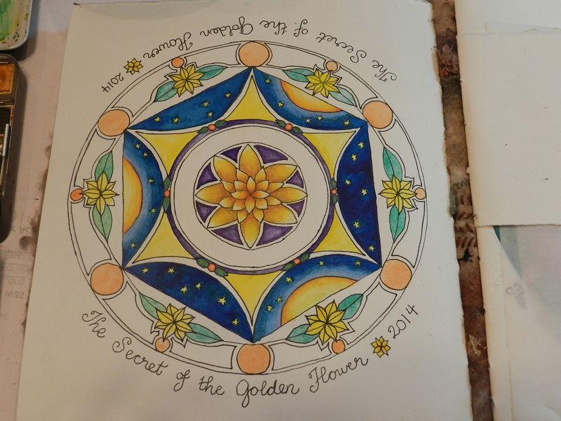 100011-Golden flower1