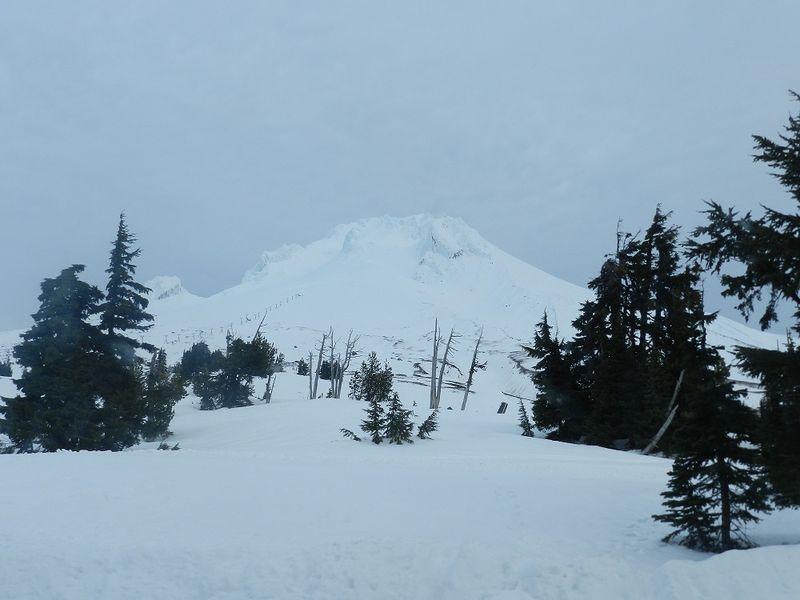 100026-Mt.Hood peak
