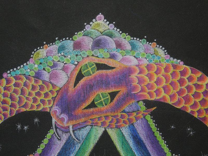 1000362-Head of serpent