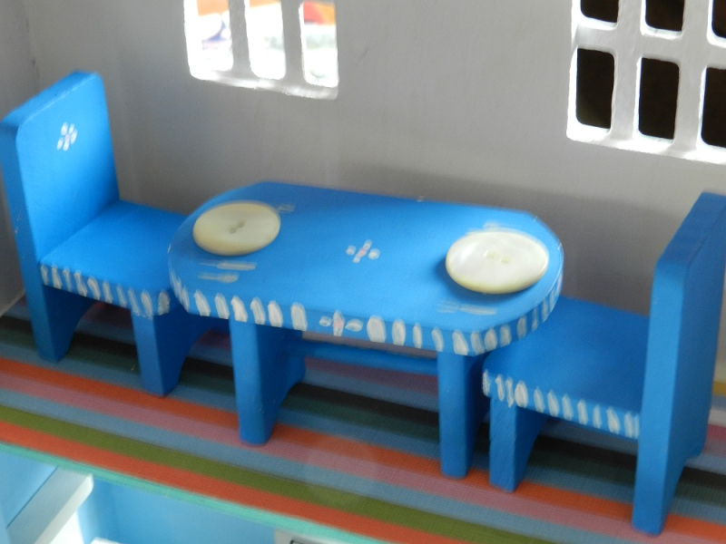 1000428-blue dining set #1